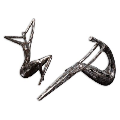 Uttermost 2 Piece Dahy Figurine Set