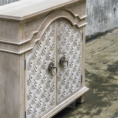 Clarksville French Country 2 Door Accent Cabinet