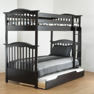 Orbelle Trading Curved Twin Bunk Bed