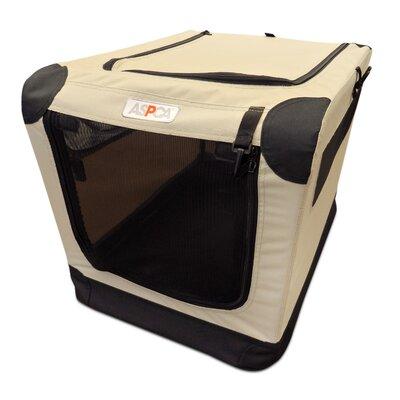 """Soft Pet Carrier Size: Small (21"""" H x 15"""" W x 15"""" D), Color: Tan"""