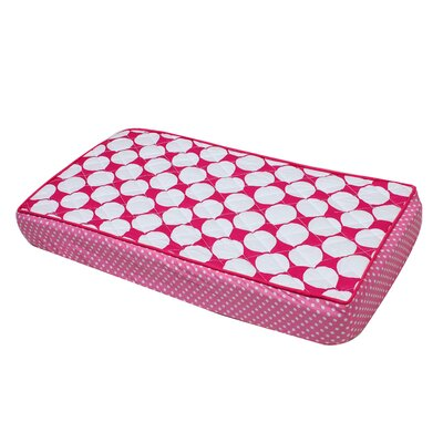 Mix N Match Large Dots Changing Pad Cover Color: Pink