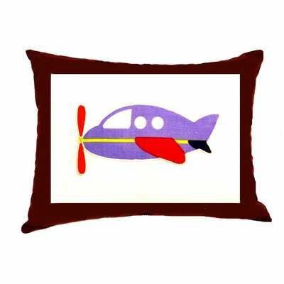 Bacati Transportation Decorative Cotton Throw Pillow
