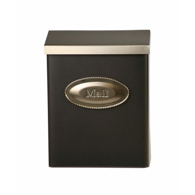 Designer Locking Wall Mounted Mailbox Color: Venetian Bronze