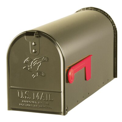 Elite Post Mounted Mailbox