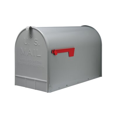 Stanley Post Mounted Mailbox Color: Grey