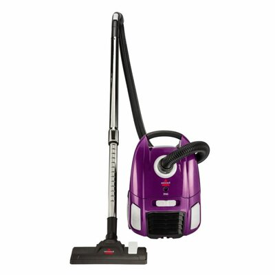 Zing Bagged Canister Vacuum Color: Purple