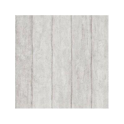 """ferm LIVING Concrete Trompe L'oeil 33' x 21"""" Wood Wallpaper"""