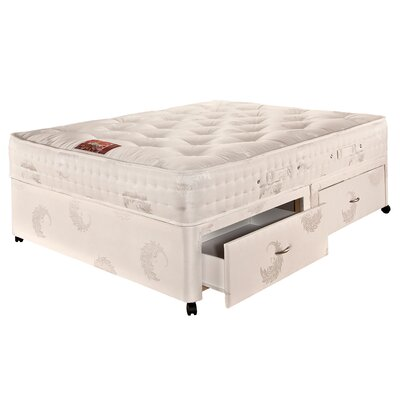 Airsprung Beds Symphony Pocket 1700 Pillow Top Divan Set