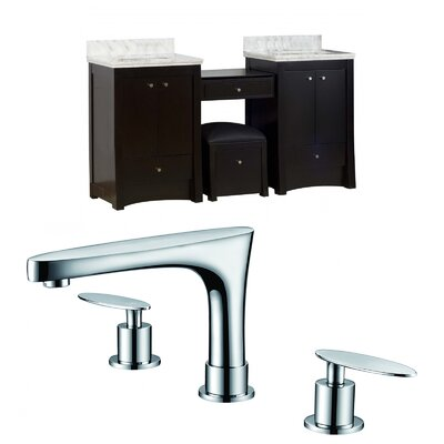 "Vangundy 69"" Double Bathroom Vanity Set Set"