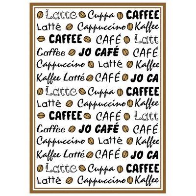 Kracht Frottier Geschirrtuch Kaffee Latté