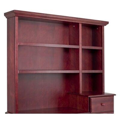 """45.5"""" H x 55.2"""" W Desk Hutch Finish: Cherry"""
