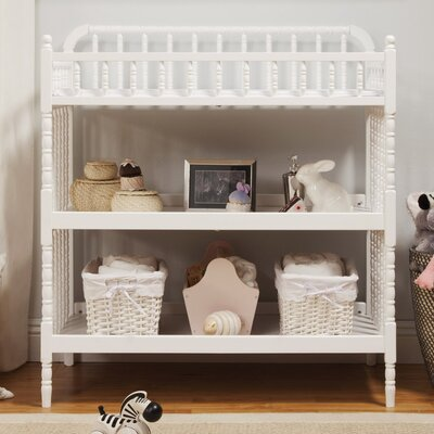 Jenny Lind Changing Table Color: White