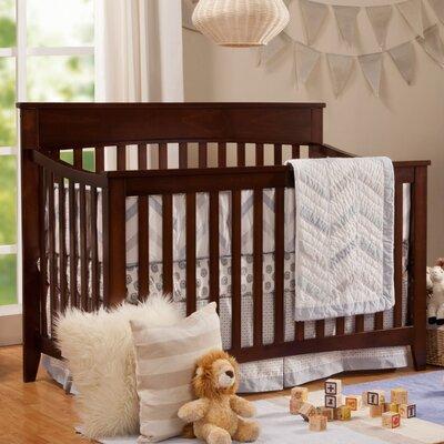 Grove 4-in-1 Convertible Crib Color: Espresso