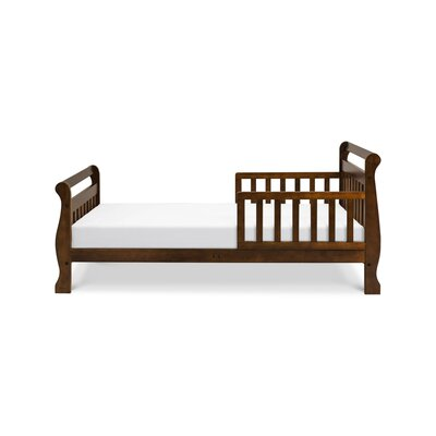 Sleigh Toddler Sleigh Bed Color: Espresso