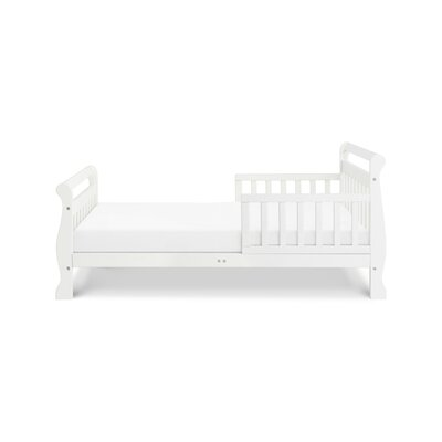 Sleigh Toddler Sleigh Bed Color: White