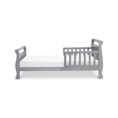 Sleigh Toddler Sleigh Bed Color: Grey