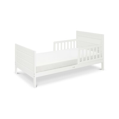 Modena Toddler Panel Bed Color: White