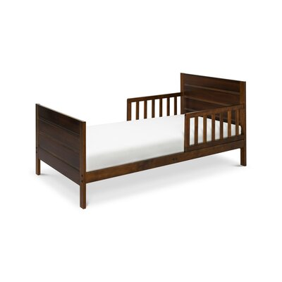 Modena Toddler Panel Bed Color: Espresso