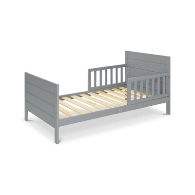 Modena Toddler Panel Bed Color: Grey