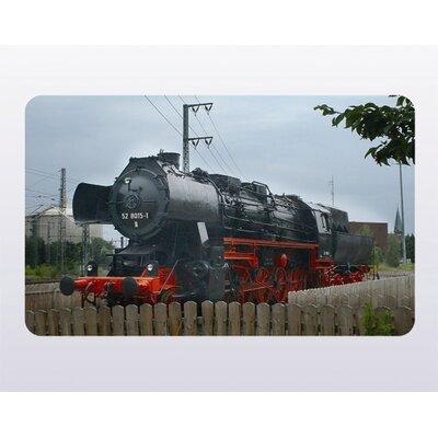 """Ricolor MK-Haushaltswaren Frühstücksbrettchen """"Eisenbahn 2"""""""
