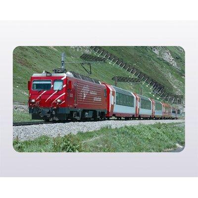 """Ricolor MK-Haushaltswaren Frühstücksbrettchen """"Eisenbahn Glacier Express"""""""
