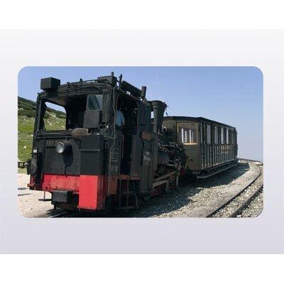 """Ricolor MK-Haushaltswaren Frühstücksbrettchen """"Eisenbahn 4"""""""