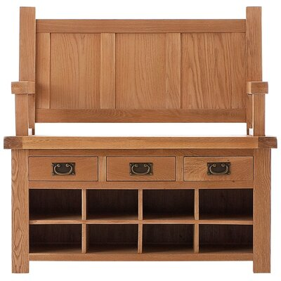 Thorndon Hampton Wardrobe Bench with Storage Space