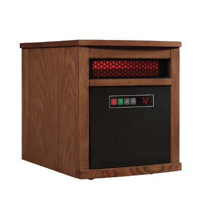 1,500 Watt Electric Infrared Cabinet Heater Finish: Oak