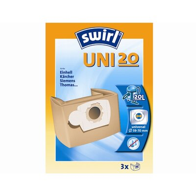 "Swirl Papierbeutel ""UNI20"""