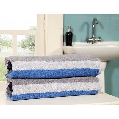 East Haven Jacquard 100% Cotton Beach Towel