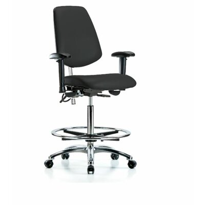 Oscar Ergonomic Office Chair Color (Upholstery): Black, Casters/Glides: Casters, Tilt Function: Included