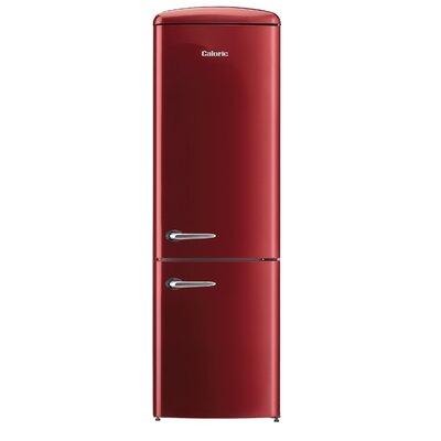 Retro 12 cu. ft. Energy Star Bottom Freezer Refrigerator Finish: Bordeaux