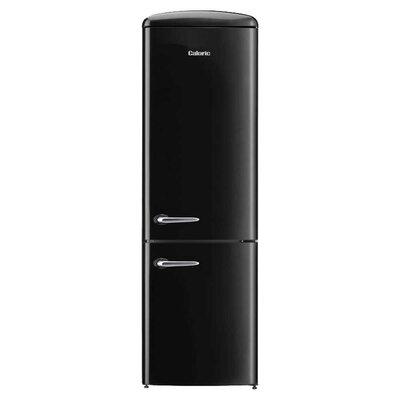 Retro 12 cu. ft. Energy Star Bottom Freezer Refrigerator Finish: Black