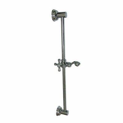 shower slide bar with handheld shower holder wayfair. Black Bedroom Furniture Sets. Home Design Ideas