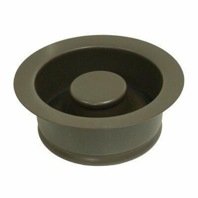 Garbage Disposal Flange Finish: Oil Rubbed Bronze