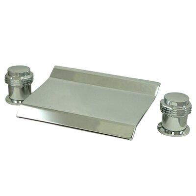 Elements of Design Double Handle Deck Mount Water Fall Roman Tub Faucet Trim
