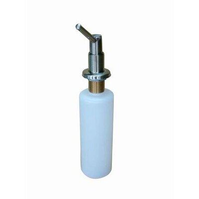 Decorative Soap Dispenser Finish: Satin Nickel