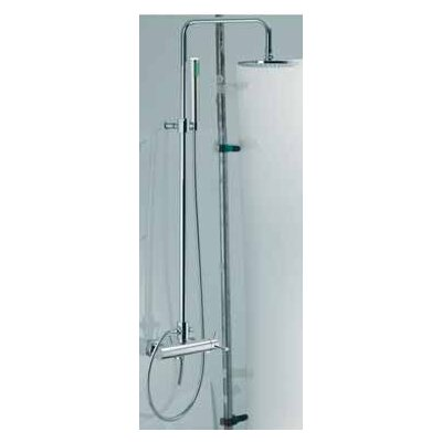 Fima by Nameeks Spillo Wall Mount Thermostatic Shower Faucet with Hand Shower