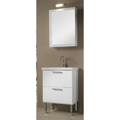 "Iotti by Nameeks Luna 23"" Single Bathroom Vanity Set with Mirror"
