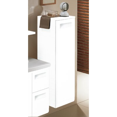 Integral Short Storage Accent cabinet Color: Glossy White, Door Orientation: Right Hand Side