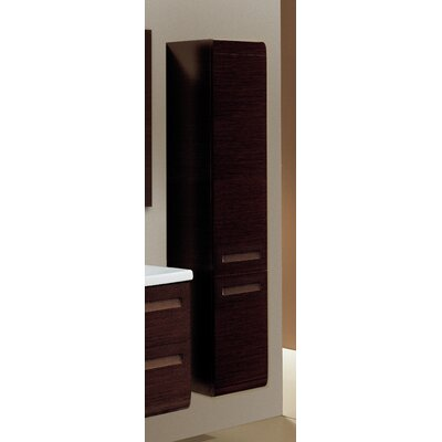 Integral Tall Storage Accent cabinet Color: Natural Oak, Door Orientation: Right Hand Side