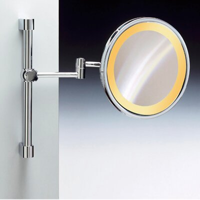 Windisch by Nameeks Incandescent Light Extendable and Adjustable 5X Magnifying Mirror