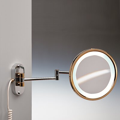 Windisch by Nameeks Fluorescent Light Extendable 3X Magnifying Mirror