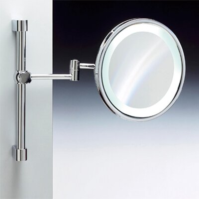 Windisch by Nameeks Fluorescent Light Adjustable and Extendable 3X Magnifying Mirror