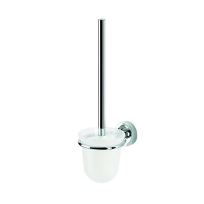 Geesa by Nameeks Luna Wall MountedToilet Brush and Holder