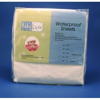 L.A. Baby Waterproof Fitted Crib Sheet
