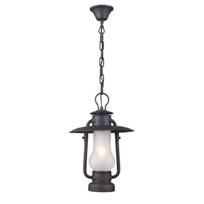 Landmark Lighting Chapman 1 Light Outdoor Hanging Lantern