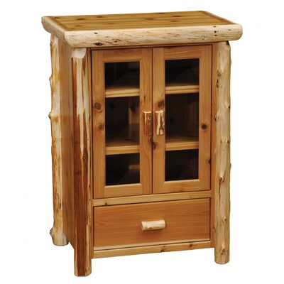 Cedar 1 Drawer 2 Door Accent Cabinet