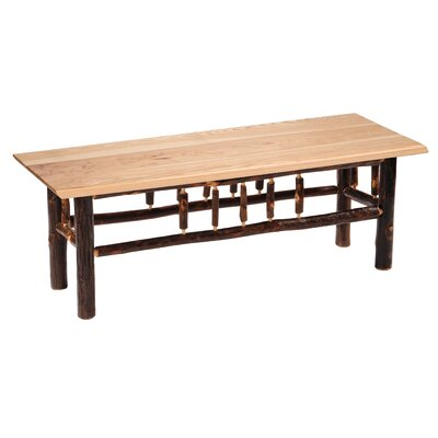 Hickory Bench Color: Traditional, Size: 48""