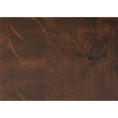 "Twig Bench Upholstery: Espresso, Size: 18"" H x 48"" W x 18"" D"